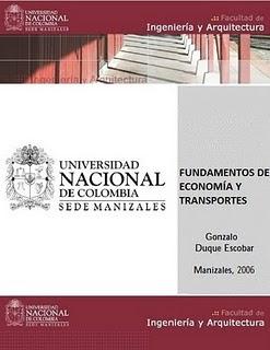 1 %2Blibro fundamentos de economia y transportes gonzalo duque escobar FEYT