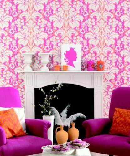 Tiny Home Designs: Honey Living: A Color Story...pink And Orange