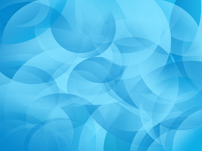 Ubuntu Swirls Blue Wallpaper