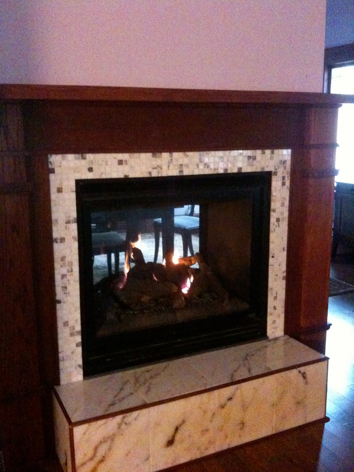 Adventures in Newfield: Fireplace, rainy day, football ...