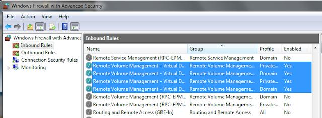 Configuring a Hyper-V R2 Core Installation