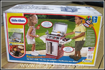 Little Tikes - Backyard Barbeque™ Get Out 'n' Grill Review ...