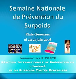 SEMAINE NATIONALE DE PRÉVENTION DU SURPOIDS