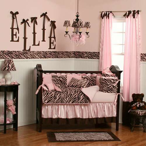 Zebra Bedding: Zebra Crib Bedding
