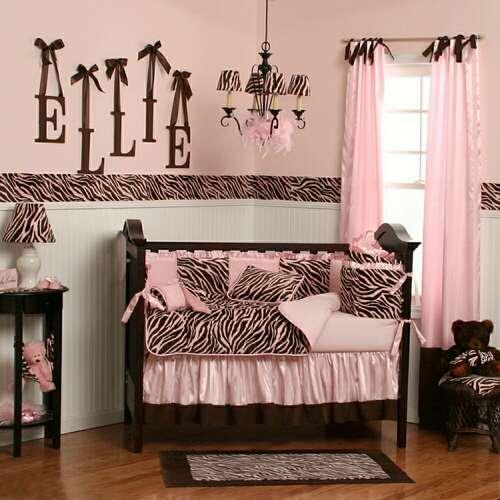 Zebra Bedding: Zebra Crib Bedding