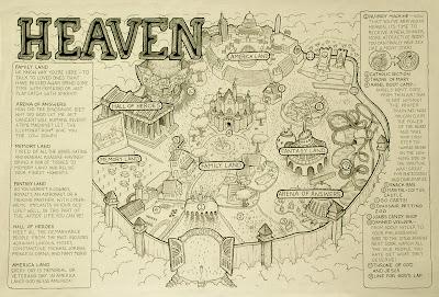 Map Of Heaven MALACHI WARD: Map of Heaven