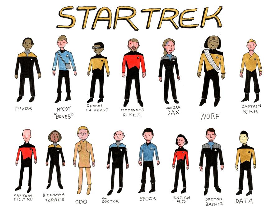 farley grandberry: Featured In Star Trek First