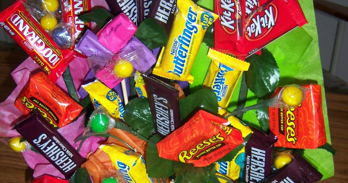 When Pigs Fly: How To Make A Candy Bouquet