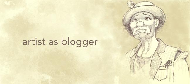 Artist As Blogger