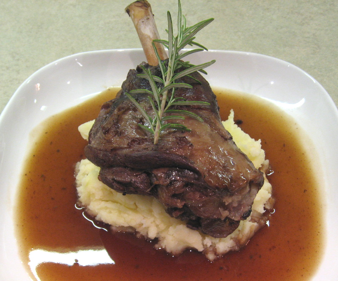 Kitchen Delights: LAMB SHANK STEW WITH CREAMY MASH