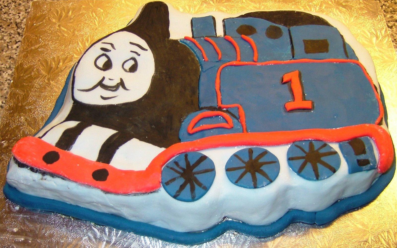 Kitchen Delights Thomas The Tank Engine Birthday Cake