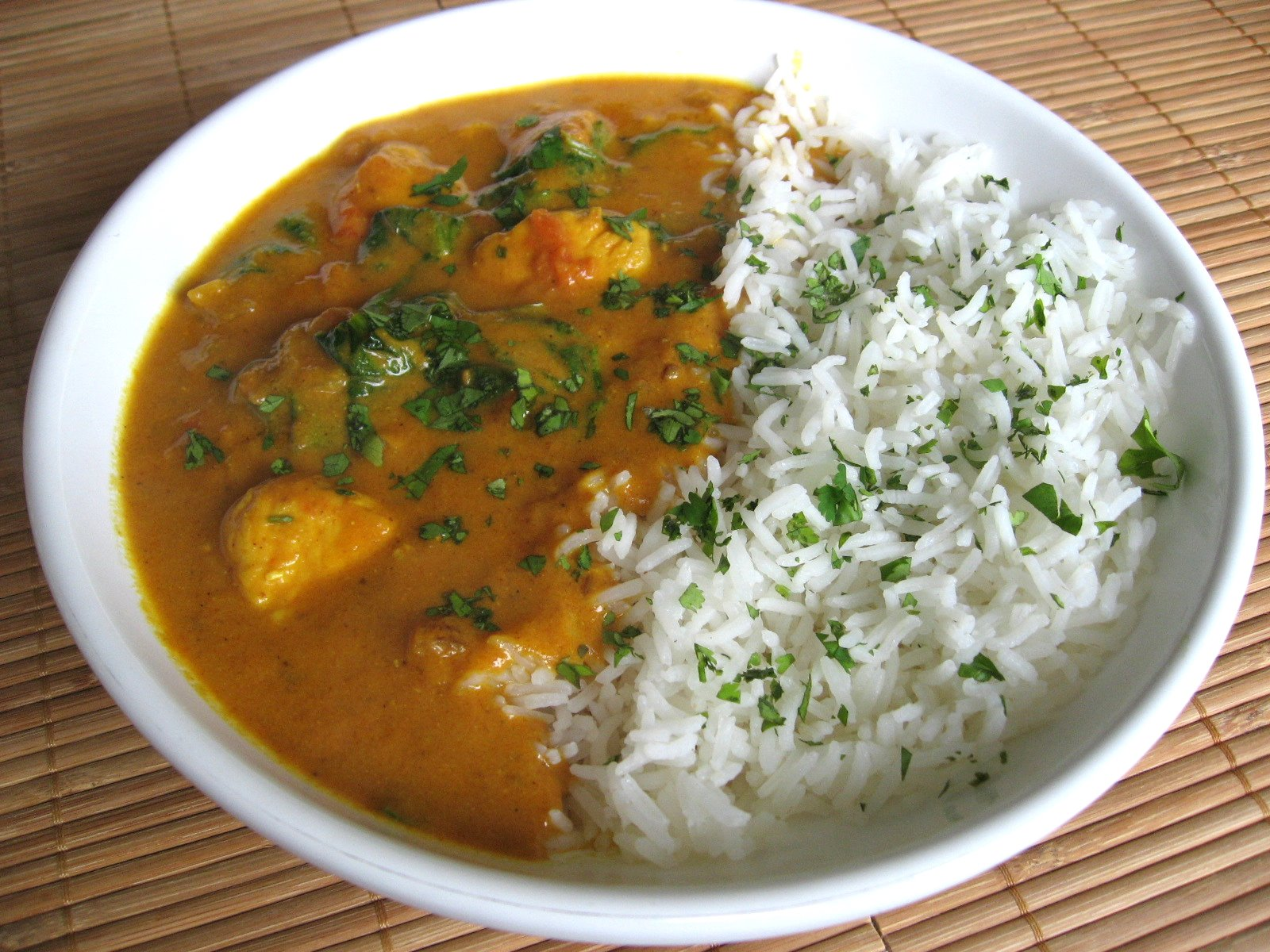chefs tool box quick lamb curry this quick chicken and spinach curry ...
