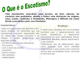 O Que é o Escotismo ?