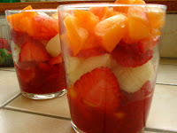 verrine de fruits
