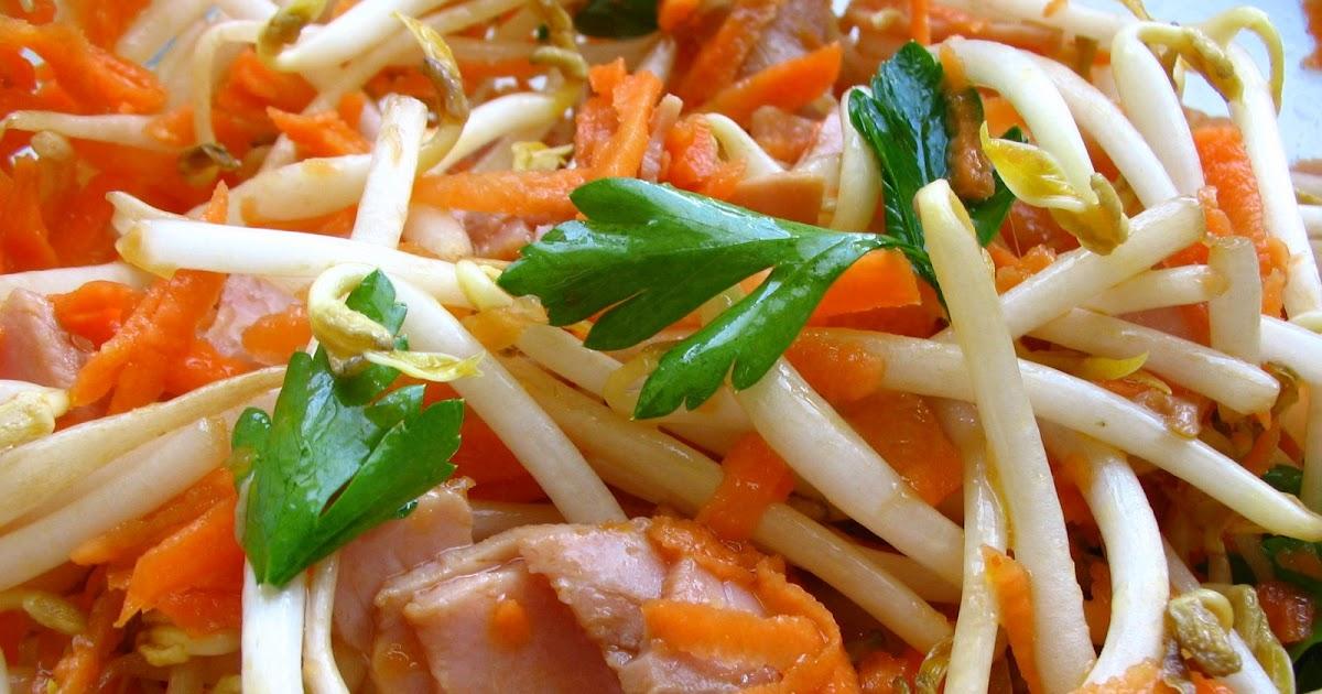 Cuisine gourmande salade chinoise express au soja - France 3 cuisine gourmande ...