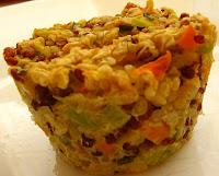 galettes quinoa légumes