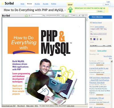 Download PDF ebooks on Scribd