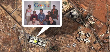 Google India Office in Hyderabad