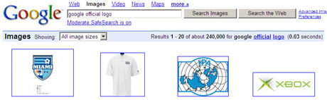 Official Google Logo Search
