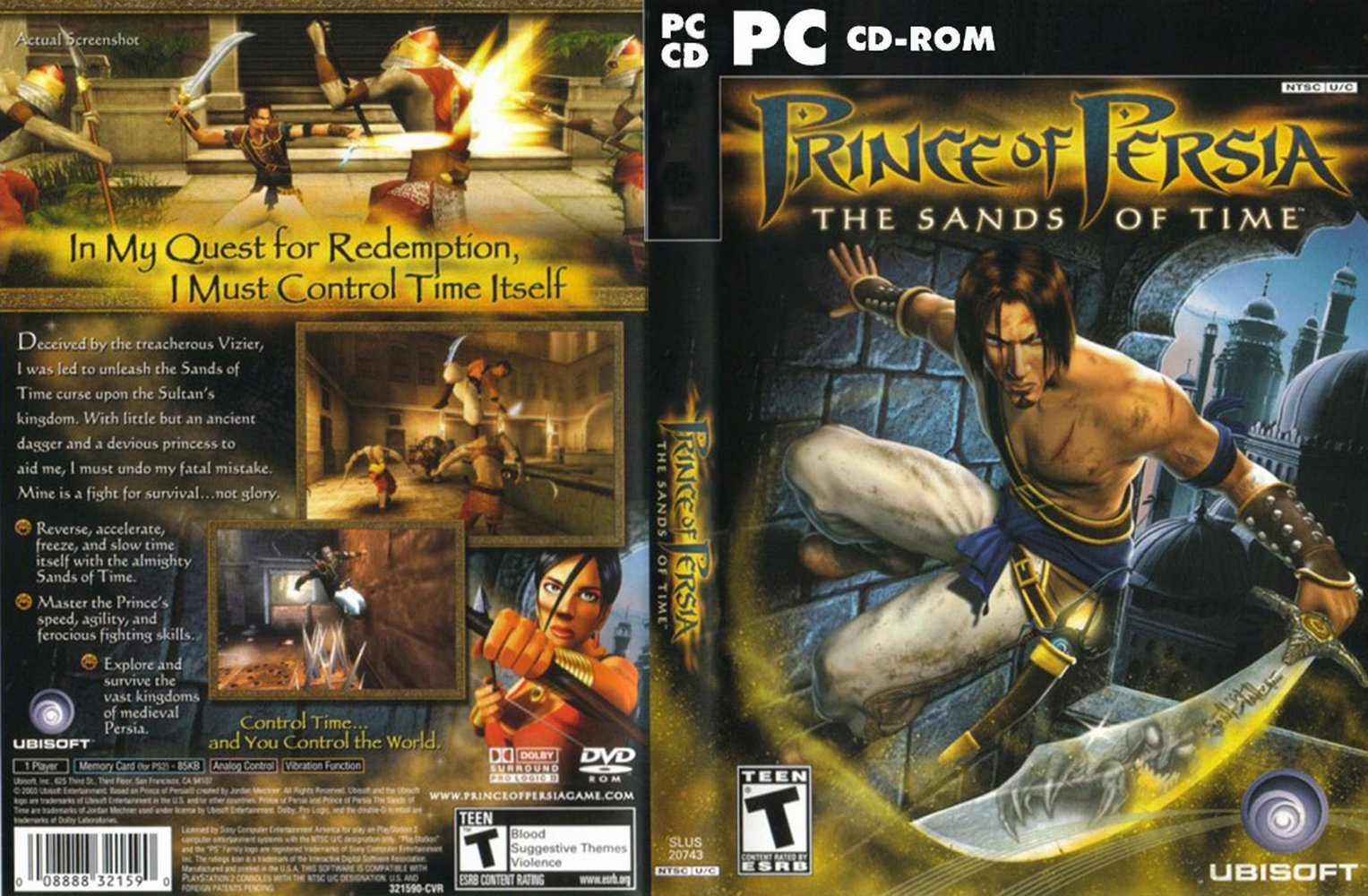 Cecenet Prince Of Persia The Sands Of Time
