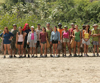 The bloated cast of Survivor: Fiji