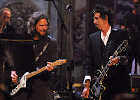 Eddie Vedder and Keith Richards