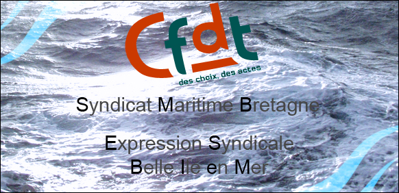 Expression syndicale   Belle-ile-en-mer