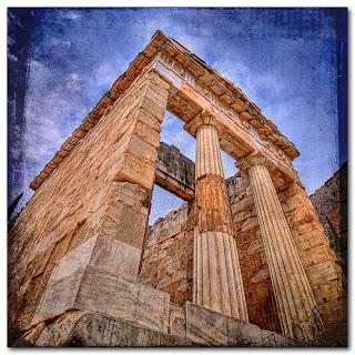 El Tesoro de los Atenienses en Delphi