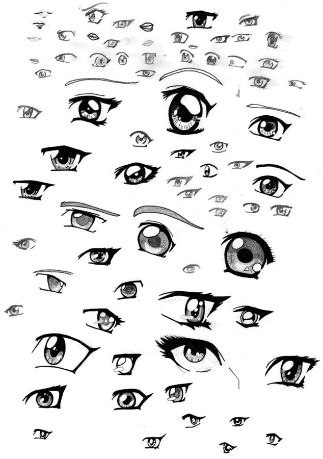 Phrase Certainly, Anime girl eyes like topic