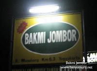 Kuliner 28 - Bakmi Jombor, Yogyakarta