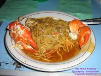Kuliner 31 - Mie Kepiting Aceh, Peunayong