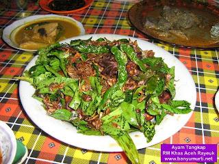 Kuliner 30 - Ayam Tangkap, Aceh
