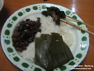 Kuliner 47 - Nasi Bancakan, Bandung
