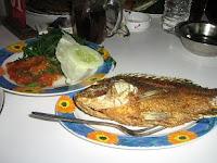 Kuliner 16 - Lalapan Mujair, Jayapura