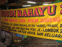 Kuliner 24 - Ayam Ngudi Rahayu, Bandung