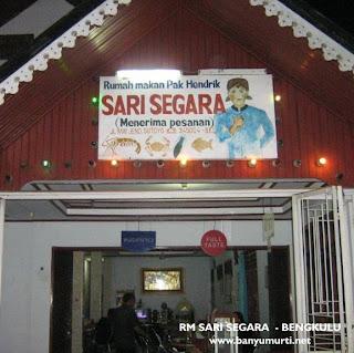 Kuliner 50 - RM Sari Segara, Bengkulu