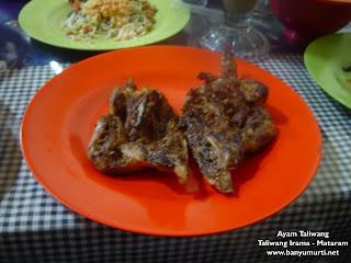 Kuliner 54 - Ayam Taliwang & Plecing Kangkung , Mataram