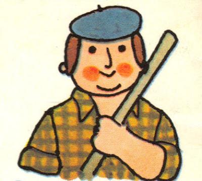 Agriculteur, image stylisée