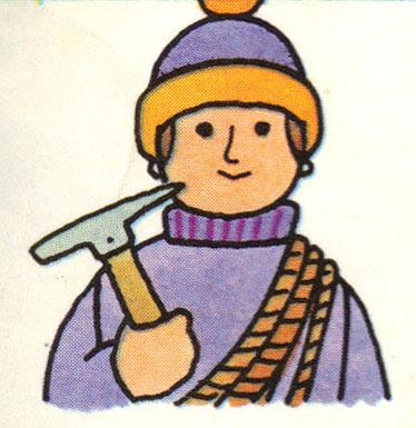 Alpiniste, image stylisée