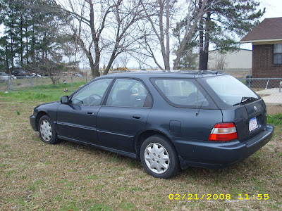 Honda for sale 1997 honda accord wagon for sale for How many miles does a honda accord last
