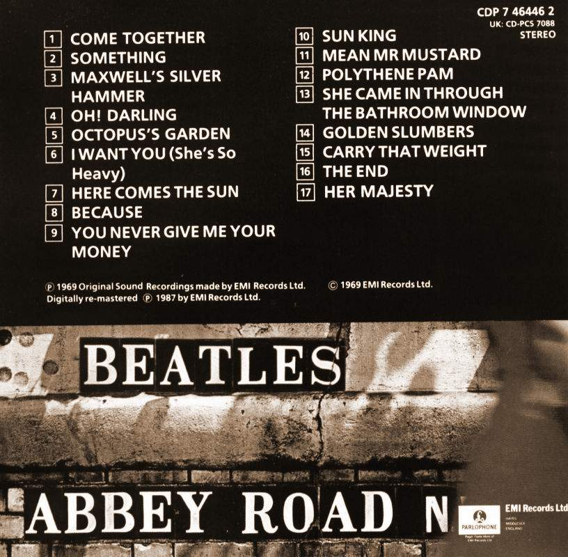 Beatles Abbey Road: The Beatles - Abbey Road .