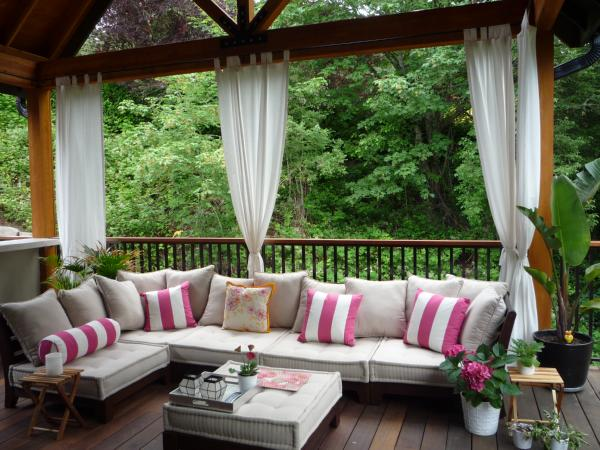 Drapes And Curtains Outdoor Curtains Great Solution For