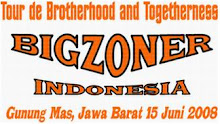 Stiker Tour de brotherhood and Togetherness