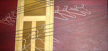 Álvaro Agudelo/Ganchos/óleo sobre tela/