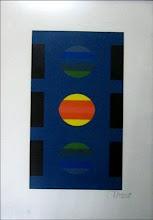 Edgard Negret/Grabado/P/A/70 cm. X 50 cm. /US $ 1000