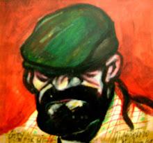 Jorge Botero/Retrato de Goty/ óleo /