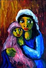 Ramón Arcila/Maternidad/12 cm. x 10 cm. US 80