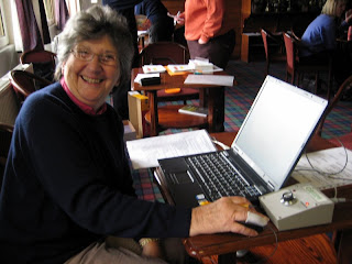 Freda Tuck --- Results Secretary calculates the CSS