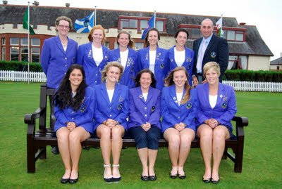 The 2009 Scottish Team - Click to enlarge