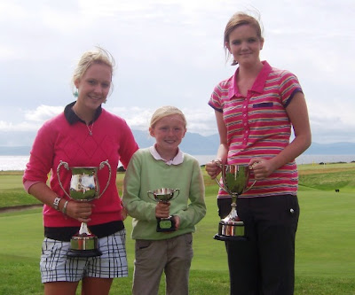 The Winners at the 2010 Nancy Chisholm Trophy at West Kilbride